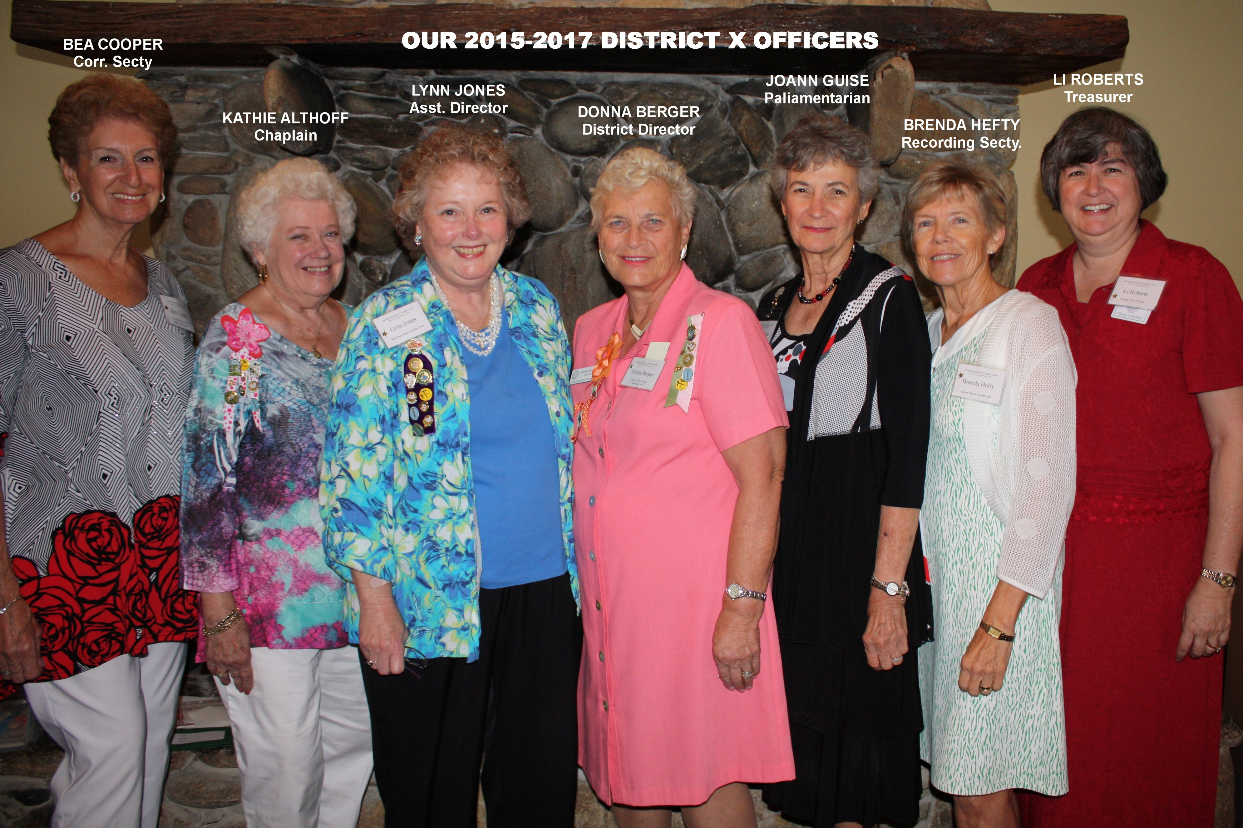 2015 officers